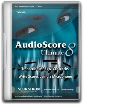 AudioScore Ultimate 8 Upgr. von AudioScore Prof./Ultim. 1-7