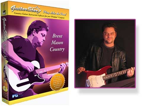 Guitar Star Brent Mason Country