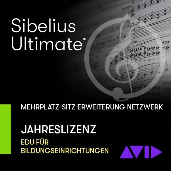 Sibelius Ultimate Netzwerk Jahresliz - Mehrplatz ERWEITERUNGS-SITZ