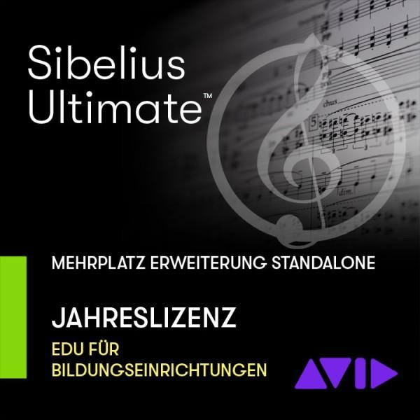 Sibelius Ultimate stand-alone Jahreslizenz - Mehrplatz ERWEITERUNGS SITZ