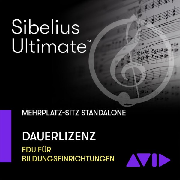 Sibelius Ultimate stand-alone Dauerlizenz - Mehrplatz SITZ