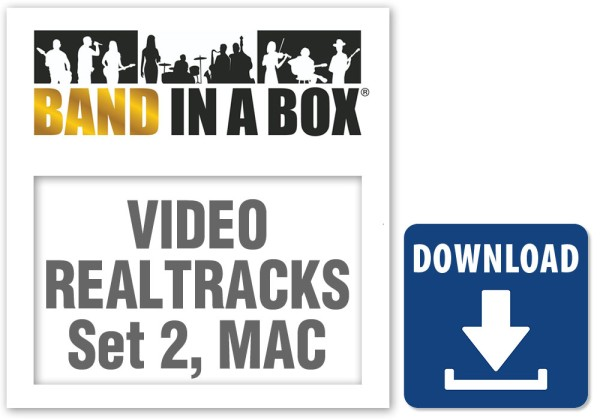 Video RealTracks Set 2: Country TrainBeat Band, MAC