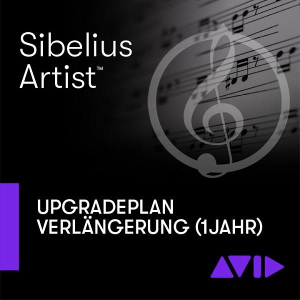 Sibelius UpgradePlan VERLÄNGERUNG (1 Jahr) - Download