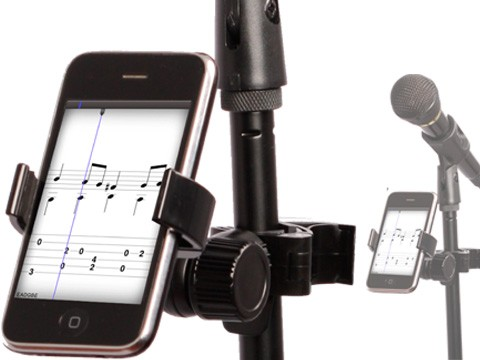 Stand Sidekick - Smartphone Halterung für Mikrofonständer