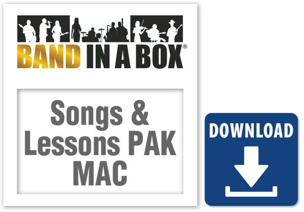Songs & Lessons Pak MAC