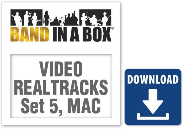 Video RealTracks Set 5: Gypsy Jazz Guitar,Blues Piano with Q.Bachand + M.Rojas, MAC