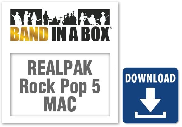 RealPAK: Rock Pop 5, MAC
