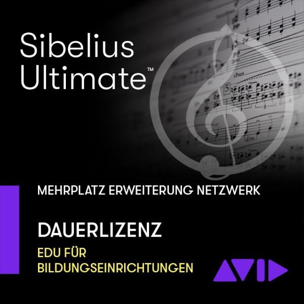 Sibelius Ultimate Netzwerk Dauerlizenz - Mehrplatz ERWEITERUNGS-SITZ
