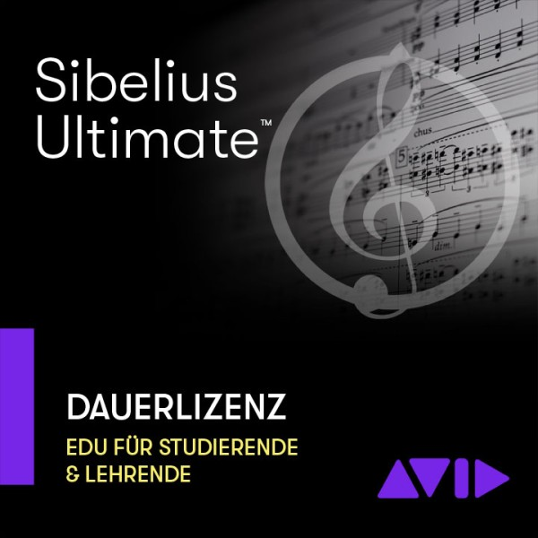 Sibelius Ultimate EDU Dauerlizenz - Download