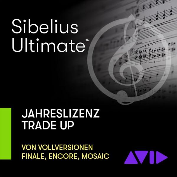 Sibelius Ultimate TRADE-UP von Finale, Encore, Mosaic, Notion - Jahreslizenz - Download