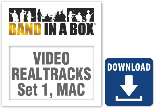 Video RealTracks Set 1: Pop Ballad Band, MAC