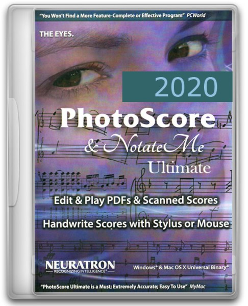 PhotoScore & NotateMe Ultimate 2020 Upgrade, engl. - Download