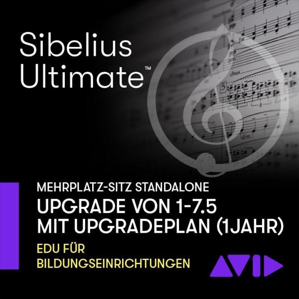 Sibelius Ultimate stand-alone Dauerlizenz Mehrplatz UPGRADE SITZ von 1 - 7.5