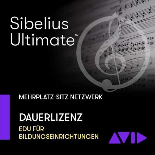Sibelius Ultimate Netzwerk Dauerlizenz - Mehrplatz SITZ
