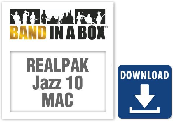 RealPAK: Jazz 10, MAC