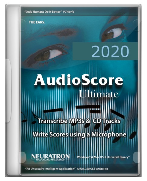 AudioScore Ultimate 2020 Upgrade, engl. - Download