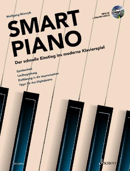 Wolfgang Wierzyk: Smart Piano - Der schnelle Einstieg ins moderne Klavierspiel