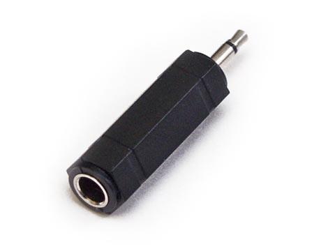 Klinkenbuchse 6,3mm an Mini-Klinkenstecker Mono